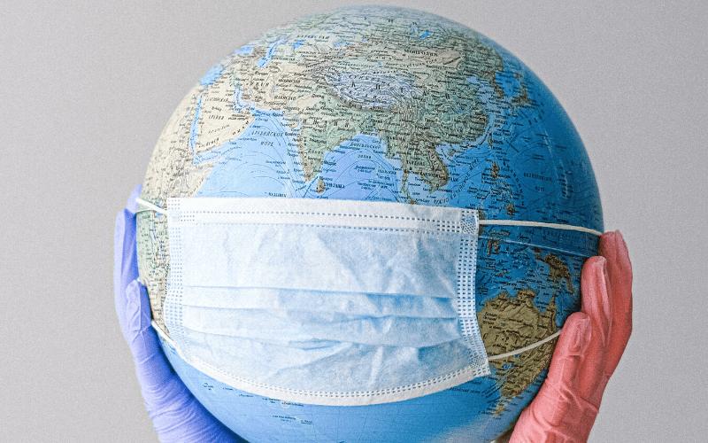 De wereld kleiner door corona
